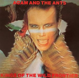 Adam And The Ants -‎ Kings Of The Wild Frontier (LP) (VG-/VG)
